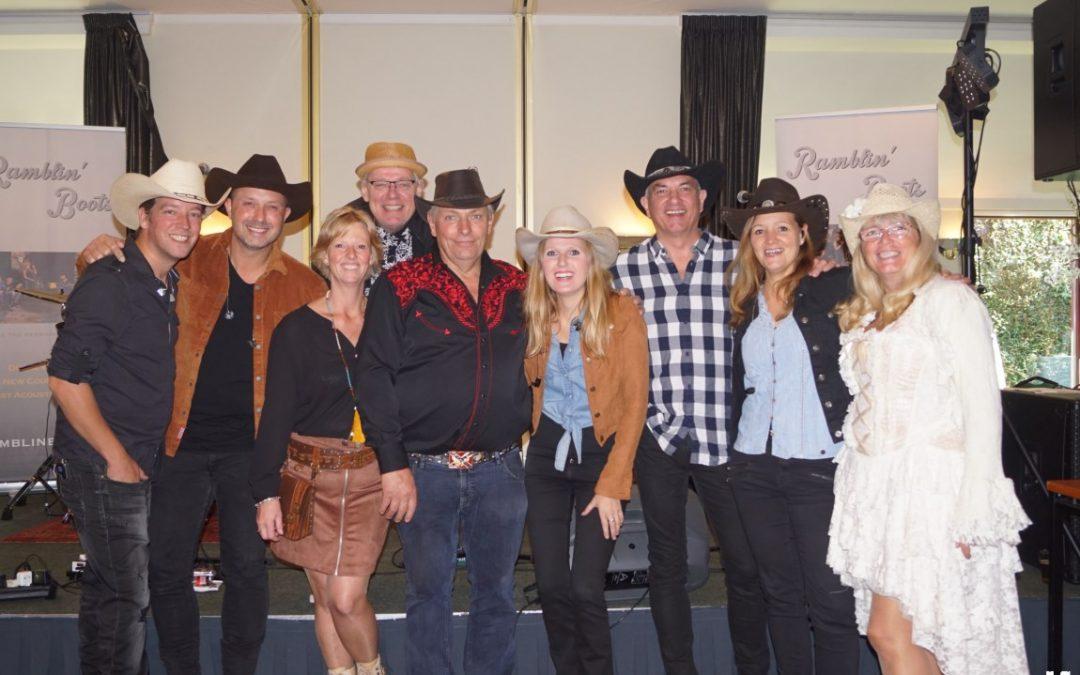 12 Uur Country  dansen met Ramblin Boots en Thilly Frank en Little Montana en Gerard Bierman in Hooglanderveen