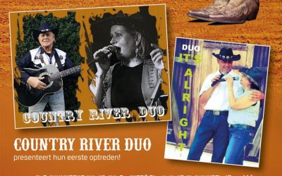 10 Oktober Country River Duo 1ste optreden mmv Country Duo It's Alright Sliedrecht